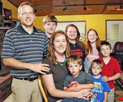 The Kummer Family has 6 kids and counting.