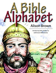 Bible Alphabet Book by Alison Brown