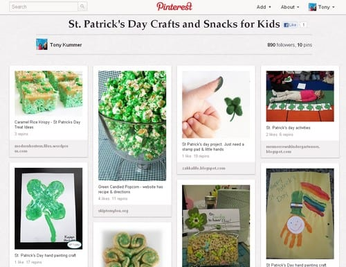 Saint Patrick's day on Pinterest