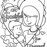 Free Mother's Day Coloring Pages
