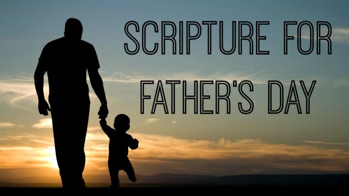 Scripture for Father's Day