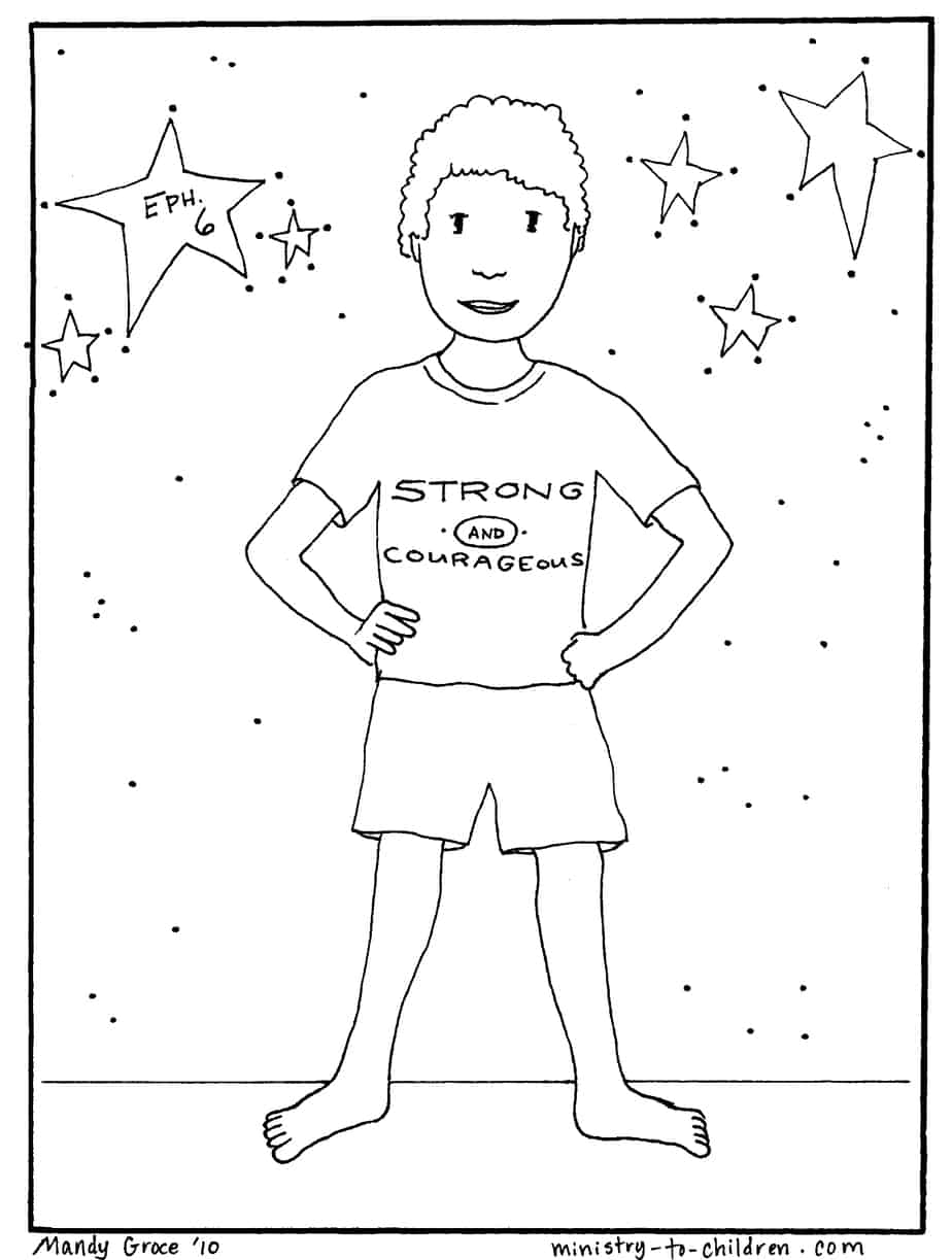 Coloring pages for preschoolers on salavation -  Coloring Page Print Friendly Pdf Jpeg Image 421k