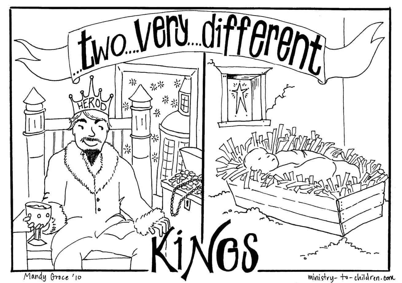 Printable Coloring Pages King David