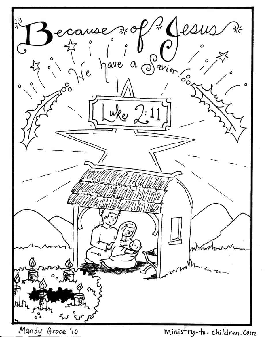Colouring sheets nativity scene - Directions To Download This Coloring Sheets As A Print Friendly Pdf File Simply Click On The Preview Image To The Right