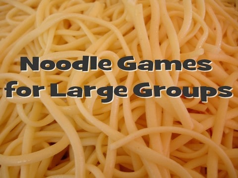 Noodle Game Ideas