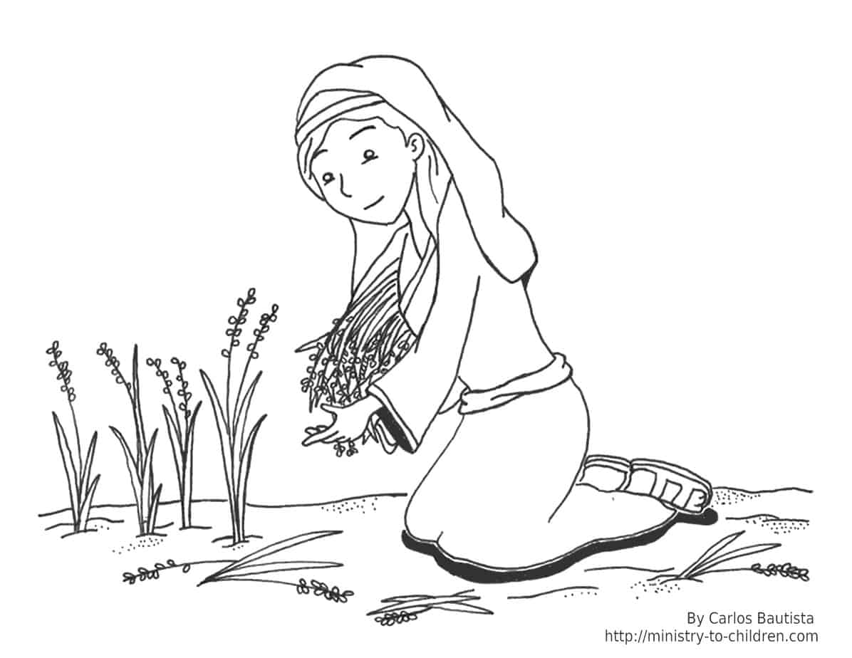 Printable coloring pages about the bible - The Higher Resolution Jpeg Is