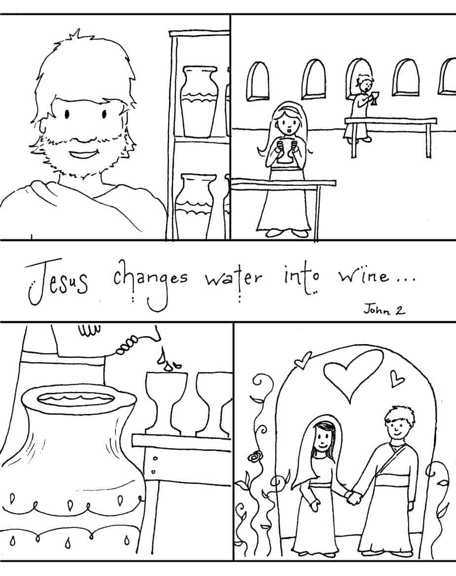 Coloring pages water - Story Page Pdf Jpeg Second