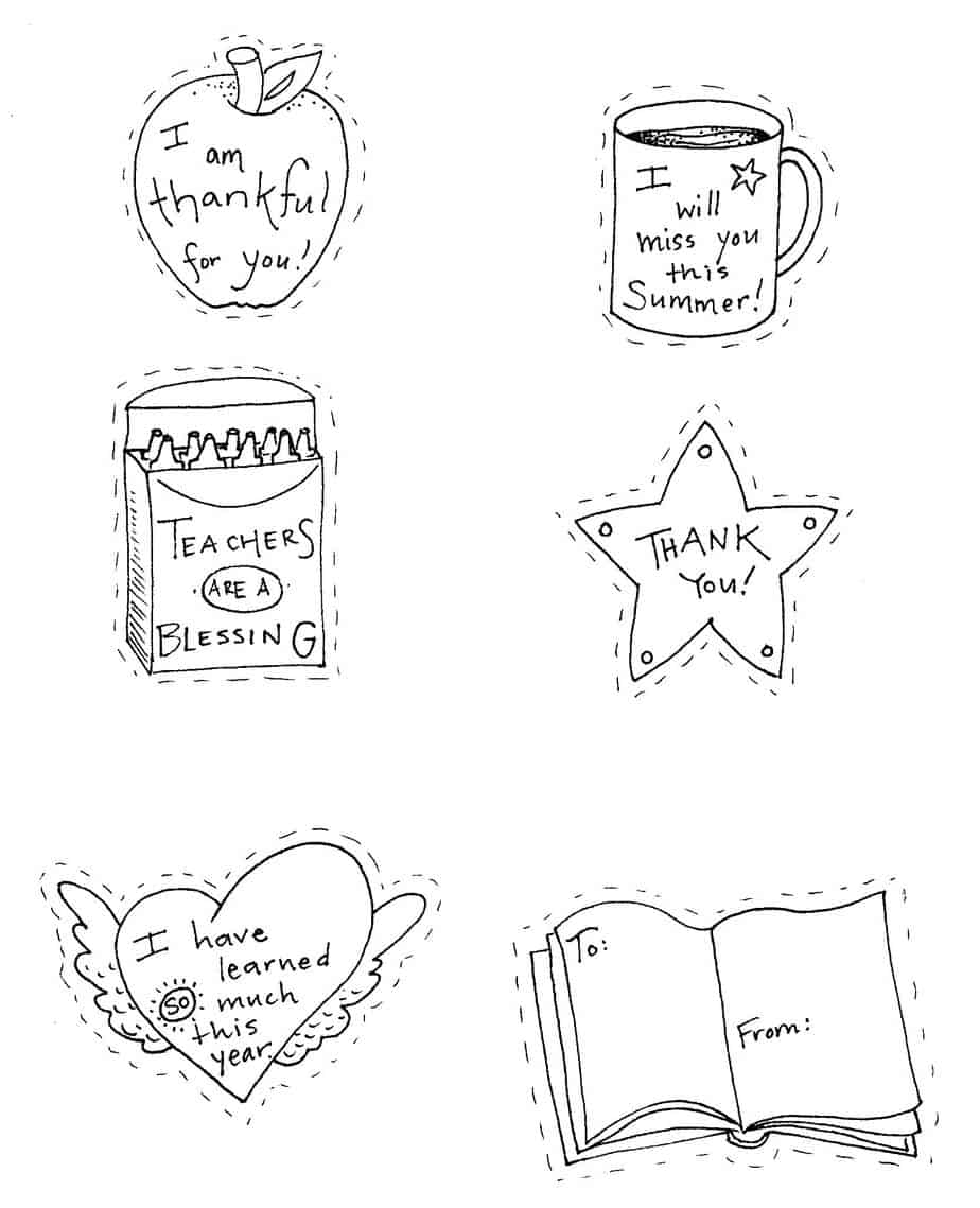 Clip Art Coloring Pages For Teachers teacher appreciation coloring pages this
