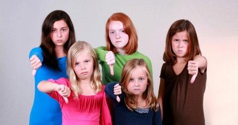 Discouragement girls