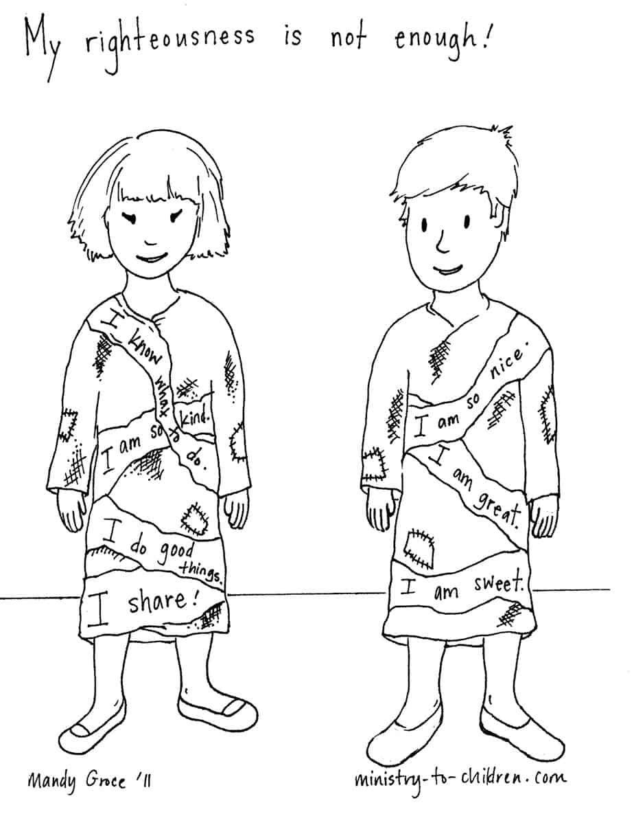 Coloring pages for preschoolers on salavation - Sinful Rags Pdf Or