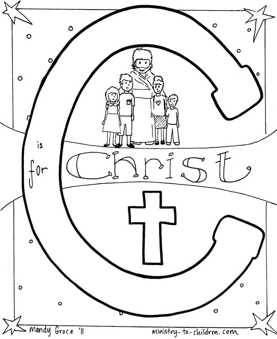 Religious coloring pages for preschoolers - Pdf Easy To Print Jpeg Advanced Users