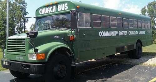 church bus ministry