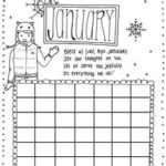 Calendar Object Lesson: New Year's Activity