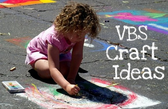 Craft ideas for Vacation Bible School