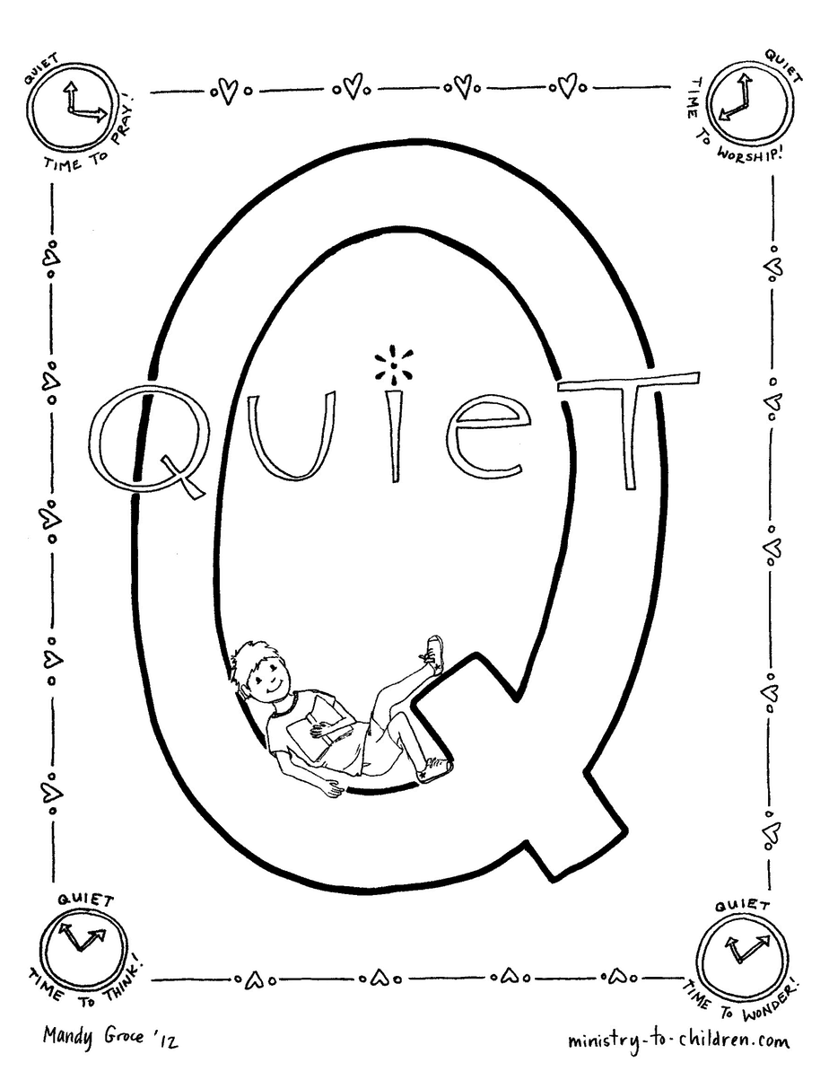 q coloring pages - photo #37