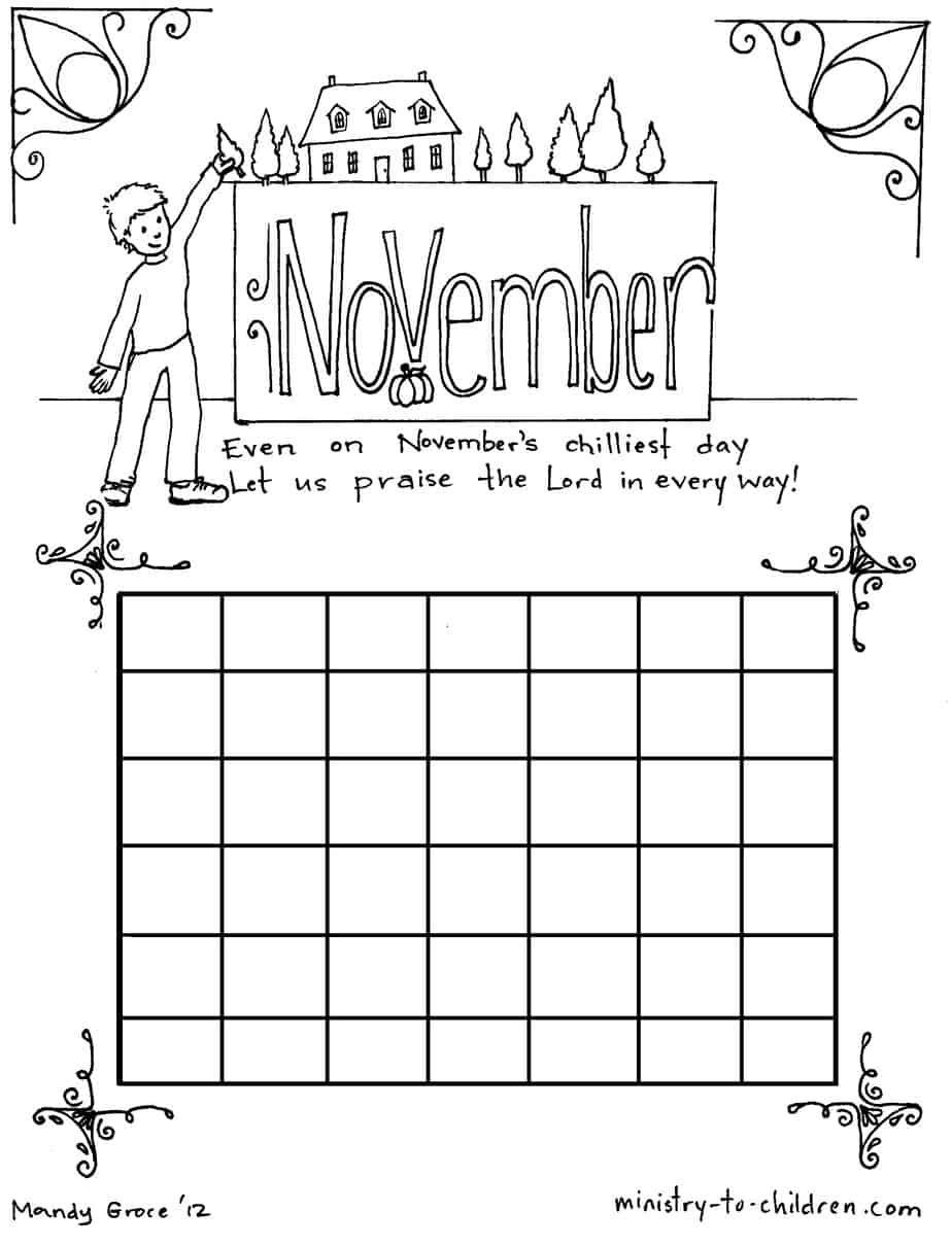 Colouring pages for november -  Jpeg For Advanced Editing