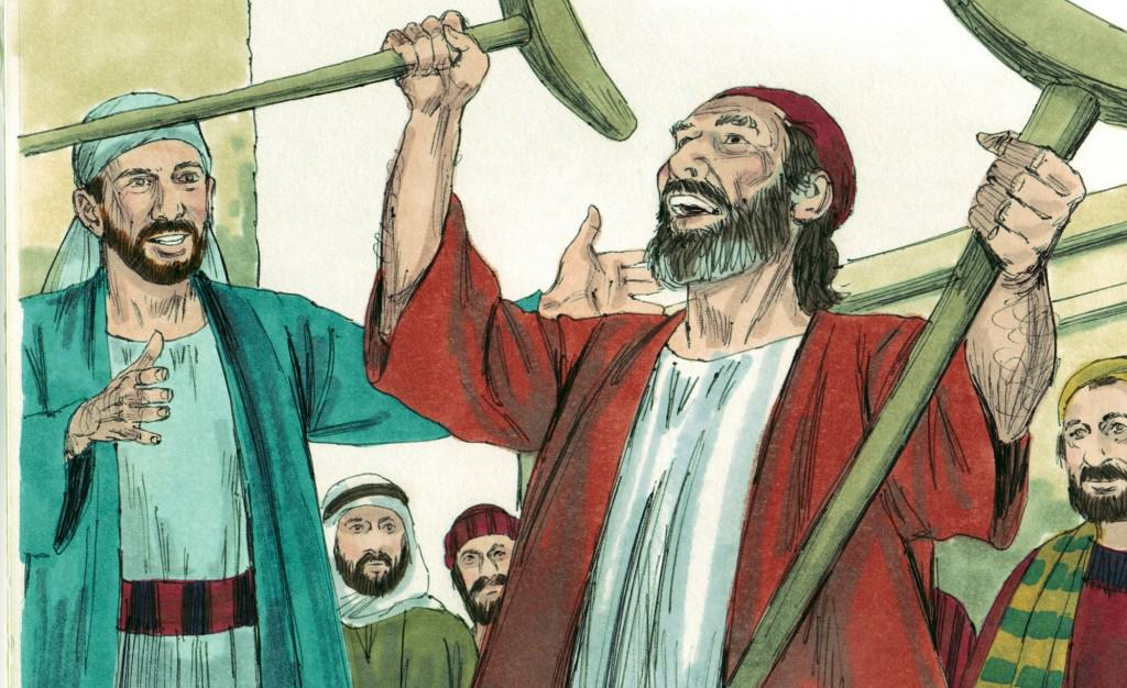 Acts 3 Bible Lesson - Peter Heals a Man in Jesus Name