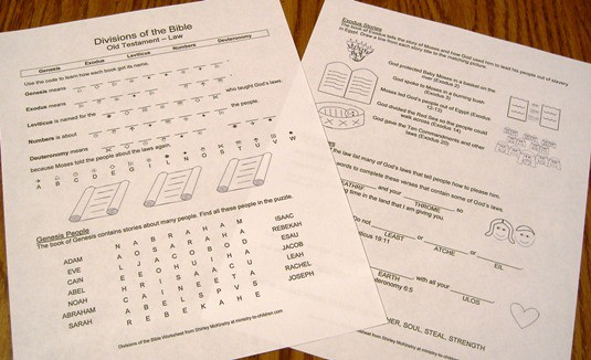 OT LAW review worksheets