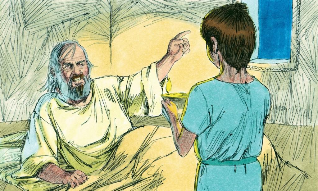 Lesson Skit – God Speaks to Samuel