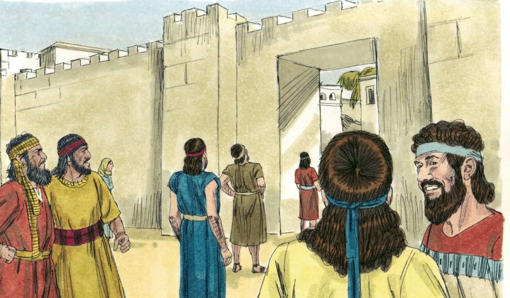 Bible Lesson:  Returning to the Word of God (Nehemiah 7-8)