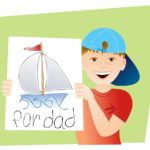 Father's Day Picture Frame Crafts for Kids