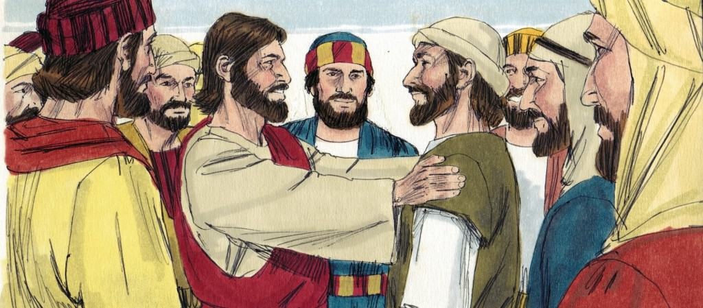 Jesus-calls-disciples