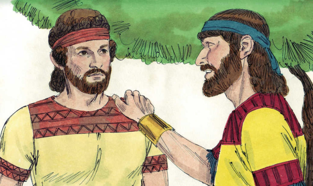 david jonathan - David Jonathan Coloring Pages