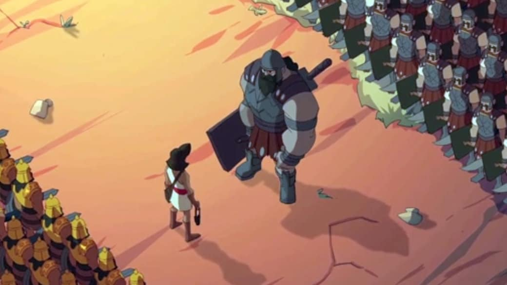 David And Goliath Animated Bible Story Video For Children