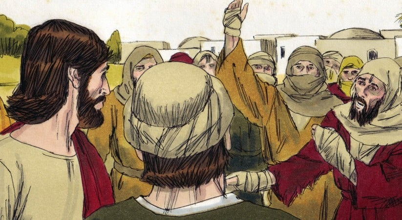 Jesus heals the 10 Lepers (Thankfulness Bible Lesson)