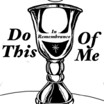 Communion / Lord's Supper Coloring Page
