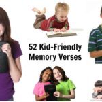 52 Kid-Friendly Bible Memory Verses