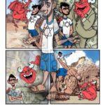 """Jesus in the Wilderness"" Bible Comic Book"