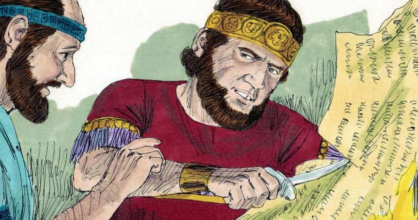 Bible Lesson - Jehoiakim disrespects Jeremiah