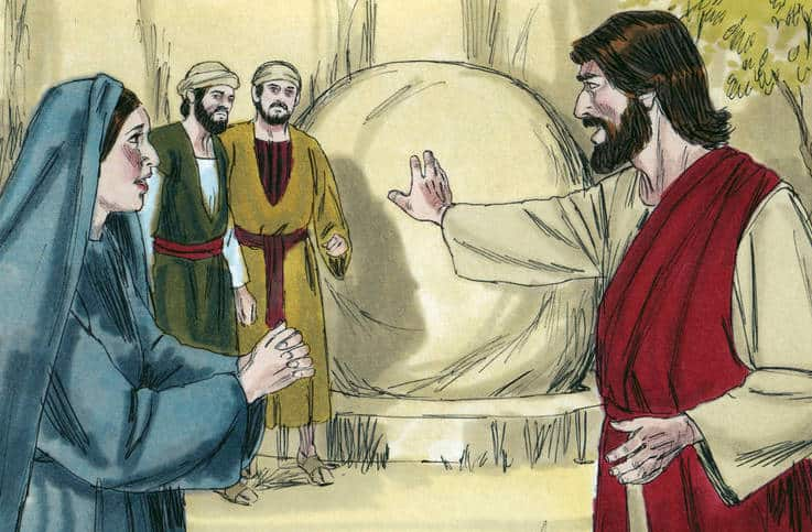 Jesus raises Lazarus Bible Lesson