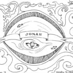 Jonah Bible Coloring Page