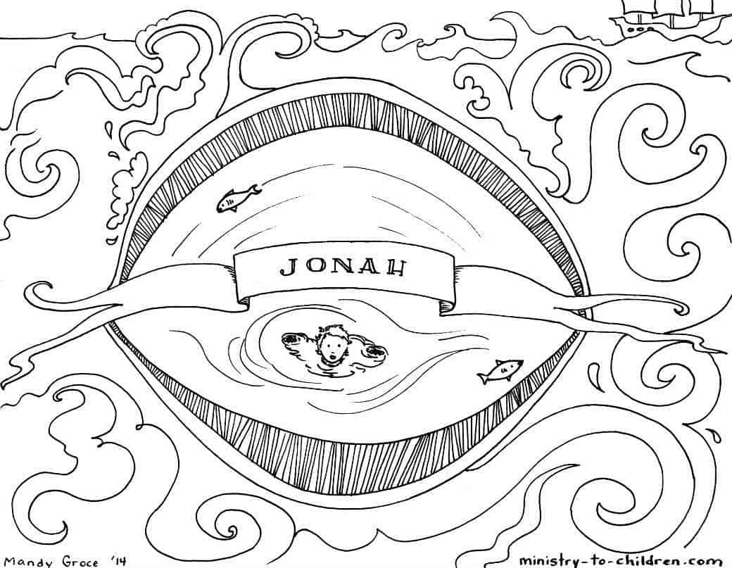 Jonah sunday school craft - Click On The Image Above For The Printable Pdf Version We Ve Also Uploaded This Illustration As A