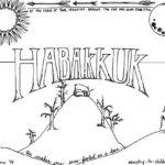 Habakkuk Bible Coloring Page