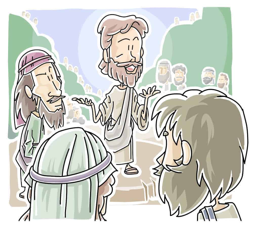 "Jesus Teaching, ""All About Love"" Lectionary Lesson from Matthew 22:34-46"