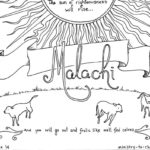 Malachi Bible Coloring Page
