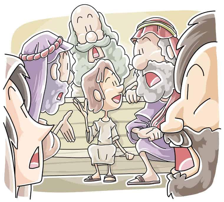 School Lesson Boy Jesus in the Temple Luke 24152