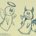 angels-and-demons-pencil-sketch-square