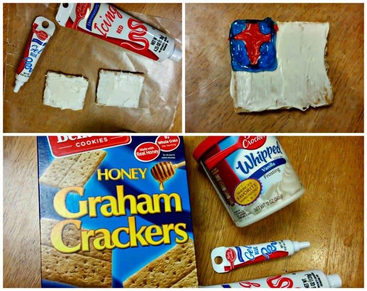 Christian Flag Craft & Snack Idea for Sunday School