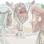 """Blind Bartimaeus"" Sunday School Lesson from Mark 10:46-52"