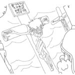 """Jesus Dies on the Cross"" Coloring Page for Good Friday"