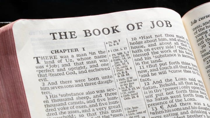 Life changing lessons from the book of job