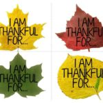 """I Am Thankful"" Leaf Craft for Thanksgiving Sunday School"