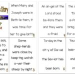 "Printable ""Christmas Story"" Reader (Luke 2:6-12)"