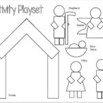 Printable Nativity Playset for Preschoolers