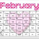 February Bible Reading Calendar