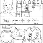 Jesus Turns Water Into Wine (John 2:11) Preschool Bible Lesson